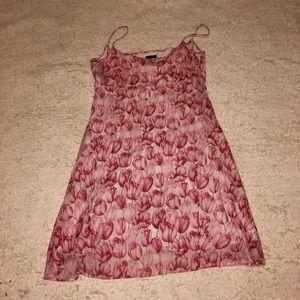 J Crew rose pattern dress